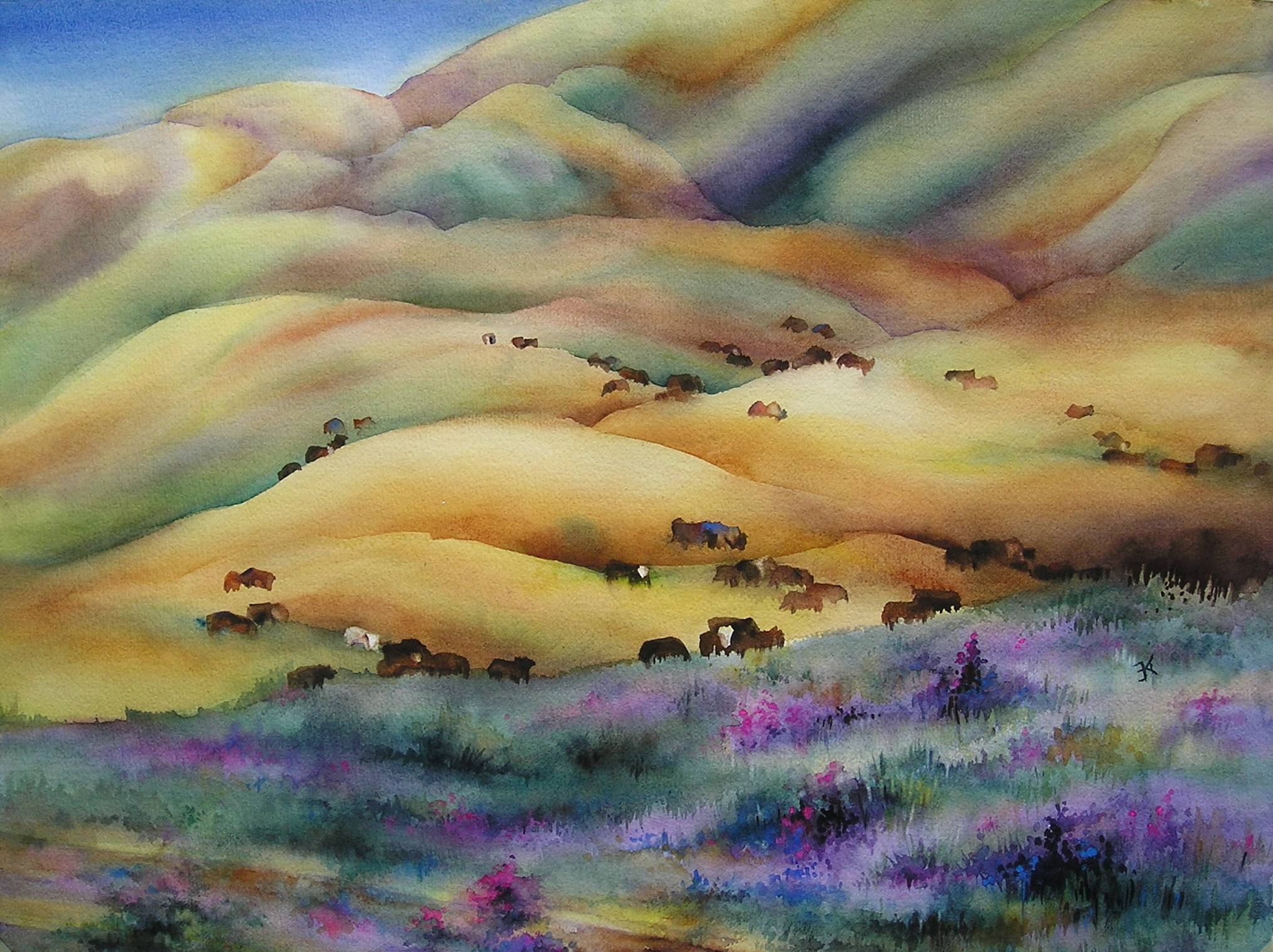 Southern California Spring painting