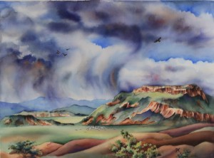 Ghost Ranch, New Mexico painting